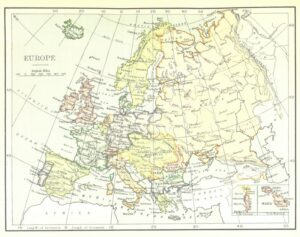 A map of Europe