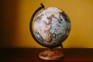 A globe symbolising job flexibility
