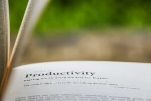 A book about productivity
