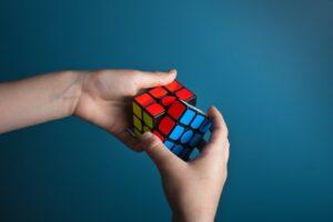 Solving a rubix cube
