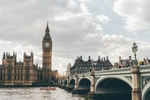 Big Ben and trafalgar bridge in London