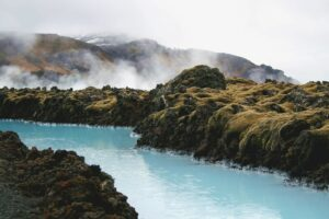 Natural hot springs in Iceland available to explore by remote workers in Iceland